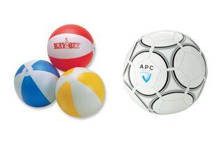 ballons de plage et sport