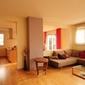 salon villa rénové