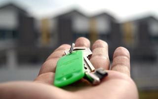 clés du nouvel appartement