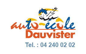 Logo de l'auto-école Dauvister
