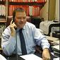 Courtier au téléphone