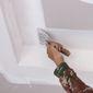 pose d'enduit sur un plafond
