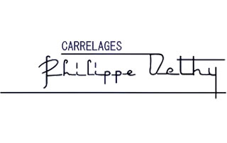 "Logo de ""Carrelages Philippe Dethy"""