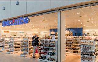 magasin de chaussures Delcambe à La Louvière