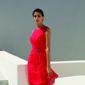 robe rouge cérémonie