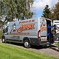 camionnette Egout Clean