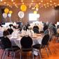 salle de fête décorée pour un anniversaire