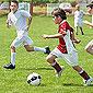 match de football enfants