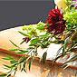 cercueil fleuri