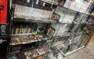 vitrine de jeux vidéo
