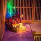 sauna style asiatique dans un spa