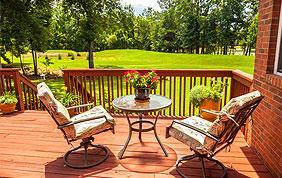 meubles de jardin bois et métal