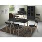 table et chaises design noir