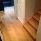 Parquet au sol avec escalier