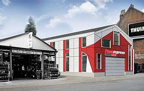 showroom et garage pneus
