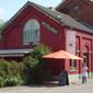 ancienne gare devenue un restaurant