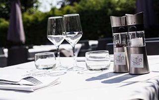 table en terrasse Little Paris