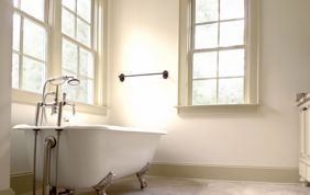 baignoire classique sur pieds