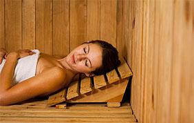 cabine de sauna relaxation