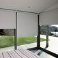 veranda avec stores électriques