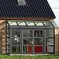 maison en briques avec véranda grise