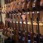 assortiment de guitares