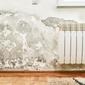 humidité mur radiateur