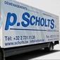 Camion de déménagement P. Scholts