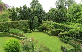 jardin structuré à la française