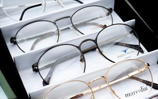 lunettes dans leur étui