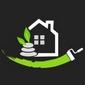 Logo entreprise de peinture Deco Home