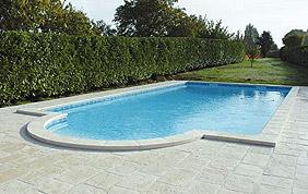 piscine enterrée rectangulaire béton