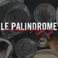 Logo restaurant français Le Palindrome