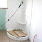 Salle de douche en construction