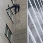 nettoyage d'immeuble en hauteur