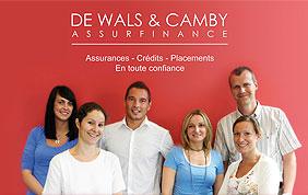 conseillers en assurances Dewals & Camby
