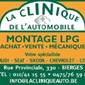 Logo la clinique de l'automobile