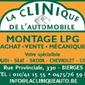 Logo la clinique de l'automobile