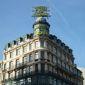 Facade hotel dome