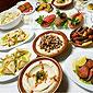buffet de plats libanais