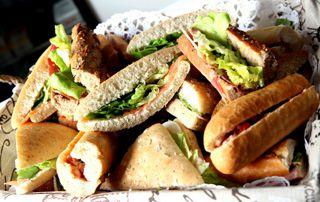 plateau de sandwiches