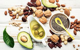 photo d'aliments sains
