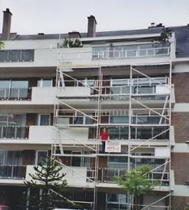 Echaufaudage réparation façade