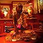 Intérieur du restaurant Thaï Orchid