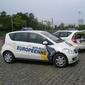 voiture de l'auto-école européenne