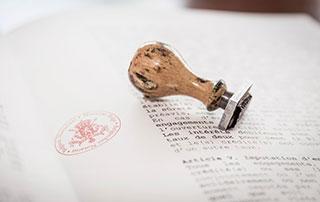 contrat de notaire
