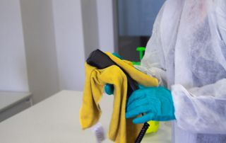 photo d'un nettoyage de téléphone