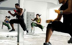 cours collectif de body attack