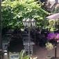 terrasse restaurant verdoyante