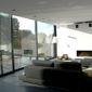 Salon baie vitrée châssis PVC